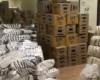 Campanha solidária: chegada dos primeiros alimentos!